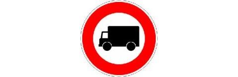 Restrictions de circulation pour les poids lourds