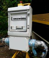 Installation électrique provisoire